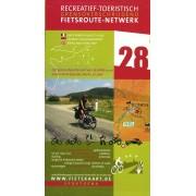 Fietskaart 28 Fietsroute-Netwerk Het groene departement van de AISNE (Noord) tussen Saint-Quentin,Vervins en Laon | Sportoena