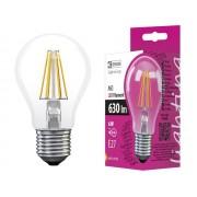 EMOS Z74220 6W filament LED lámpa A60 E27 2800K meleg-fehér 630lm 230V