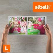Albelli Fotoboek Maken - Vierkant Large 21x21 cm met Fotokaft of Linnen Kaft