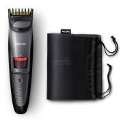 Trimmer pentru barba Philips QT4015/15, 20 trepte, fara fir, 90 min., Negru