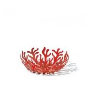 ALESSI Mediterraneo Fruitschaal rvs rood 21 cm