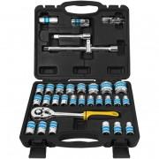 Dugókulcs készlet, 32 db-os szett kofferben FDG 5000-32R
