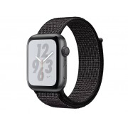 Nike Умные часы APPLE Watch Nike+ Series 4 44mm Space Grey Aluminium Case with Black Nike Sport Loop MU7J2RU/A