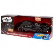 Mattel hot wheels fbw75 - veicolo radiocomando star wars darth vader