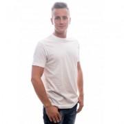 Slater T-Shirt Basic O-neck white EXTRA LONG Two Pack ( art 2700) - Wit - Size: 2X-Large