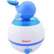 Umidificator de aer Saturn ST-AH2109, Rezervor 2.5 L, 280 ml/h, Alb/Albastru