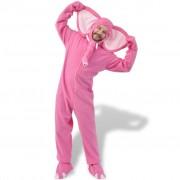 vidaXL Costum de carnaval elefant, roz, mărimea M-L