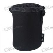 Bolsa protectora resistente al agua JJC JN22 para lente de camara (95 mm * 150 mm)