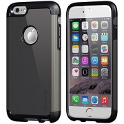 iPhone 6s Case, LUVVITT ULTRA ARMOR Case for Apple iPhone 6s (2015) / iPhone 6 (2014) Dual Layer Shock Absorbing Tough Cover with Bumper | Best iPhone 6/6S Case for 4.7 inch Screen - Black/Gunmetal