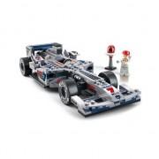 Sluban racewagen F1 zilver