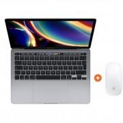 "Apple MacBook Pro 13"" (2020) MXK32FN/A Space Gray AZERTY + Magic Mouse 2"