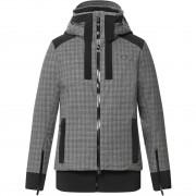 Kjus Women Jacket VARUNA steel grey melange/black