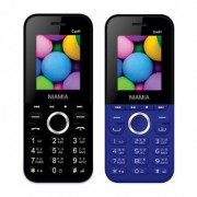 Niamia CAD 1 Basic Keypad Feature Mobile Phone Combo (Black / Blue)