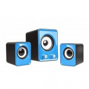 Sistem audio 2.1 Tracer Omega USB Blue