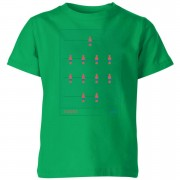 Football Camiseta Fútbol España Futbolín - Niño - Verde - 3-4 años - Kelly Green