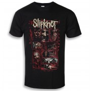 tricou stil metal bărbați Slipknot - Sketch Boxes - ROCK OFF - SKTS35MB