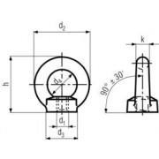 matice M24 ZINEK C15 E závěsná DIN 582