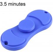 Fidget Spinner Toy Reductor De La Tension Anti - Ansiedad De Juguete Para Niños Y Adultos, 3,5 Minutos Tiempo De Rotacion Del Acero, Pequeñas Perlas Teniendo + Silicona Metarial, Dos Hojas (azul)