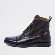 Levi's leather lace-up boots (Size 44)