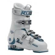 Roces Chaussures Ski Roces Idea Free 6-en-1 Ajustables pour enfants (Blanc/Bleu-vert)