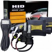 55W H13 / 9008 6000K HID Xenon Light Kit De Conversion Con Slim Ballast, Lámpara De Descarga De Alta Intensidad, Blanco