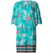 Seafolly Antique Bloom kaftan met bloemendessin