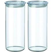 SIMAX Üvegedény készlet 2db 1,4l 5142/L áttetsző