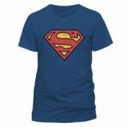 Tricou - Superman - Vintage Logo - BLACK