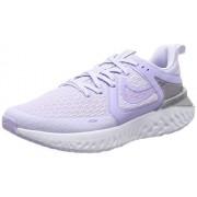Nike Legend React 2--500 Tenis para Correr para Mujer, Color Amethyst Tint/Purple Agate, 9
