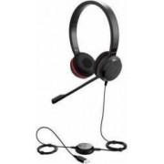 Casti cu microfon Jabra Evolve 30 II MS stereo 5399-823-309 Black