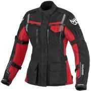 Berik Torino Vattentät damer motorcykel textil jacka 40 Svart Röd