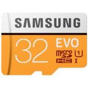 Card de memorie Samsung MicroSDHC EVO UHS-1 32GB (Class 10) + Adaptor SD