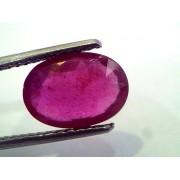 3.80 Ct Natural Ruby Gemstone Manek Gem for Sun (Heated)
