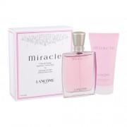 Lancôme Miracle dárková kazeta pro ženy parfémovaná voda 50 ml + tělové mléko 50 ml