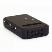 Camara infrarroja de la vision nocturna infrarroja de 180 grados 1080P mini - negro