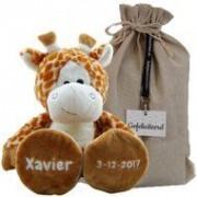 Funnies Knuffel Giraf met naamborduring