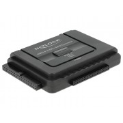 DeLock Converter USB 3.0 to SATA 6 Gb/s / IDE 40 pin / IDE 44 pin with backup function 61486