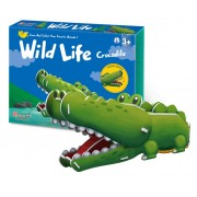 Puzzle 3D CubicFun CBFB Colectia Animale Salbatice Crocodilul