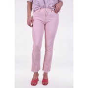 Mother jeansbroek Rascal Ankle Snippet roze