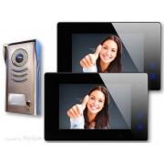 Anykam DT591+ 2x47M-B Video Türsprechanlage Gegensprechanlage Klingelanlage 2Draht