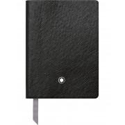 ユニセックス MONTBLANC Fine Stationary Notebook #145 Black, lined ノート ブラック