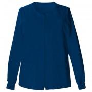 Cipzáros pamut felső Cherokee Uniforms kék XL