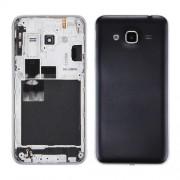 iPartsBuy for Samsung Galaxy J3 (2016) / J320 Battery Back Cover + Middle Frame Bezel(Black)