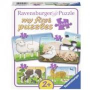 Моят първи пъзел - Животни от фермата, Ravensburger, 7006953