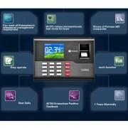 A-C121 2,8 pouces Couleur TFT Screen Fingerprint & RFID Temps Présence, Horloge USB Attendance Horloge de bureau