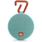 JBL Clip 2 Waterproof Bluetooth Speakers (Teal)