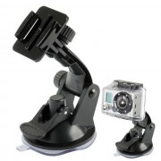 Maxy $$ Supporto Ventosa Auto Per Gopro Hd Hero / Action Cam Black