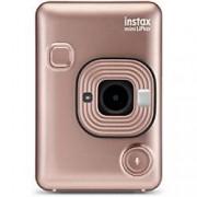 Fuji Hybrid Instant Camera Instax Mini LiPlay Blush Gold