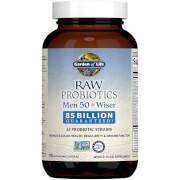 Garden of Life Raw Microbiomes Hommes 50+ - Réfrigéré - 90 Capsules
