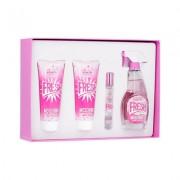 Moschino Fresh Couture Pink 100ml Apă De Toaletă + 100ml Loțiune de corp + 100ml Gel de duș + 10ml Apă De Toaletă Set